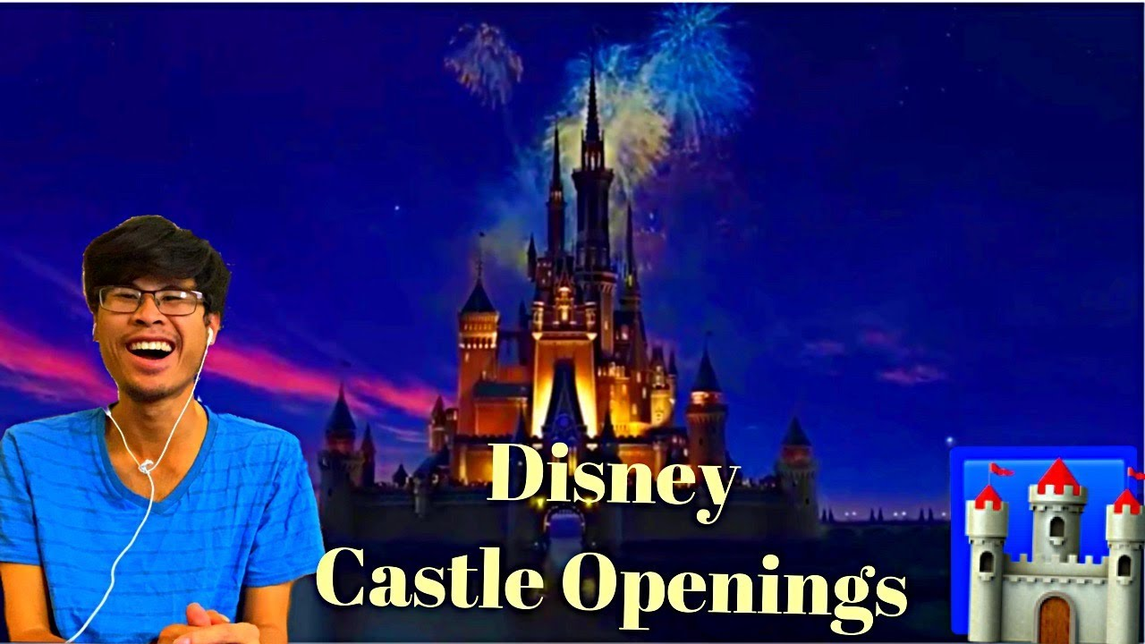 Download Reaction to Disney Castle Openings from 45 Films