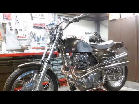 Rickman Métisse with Yamaha XS650 project.