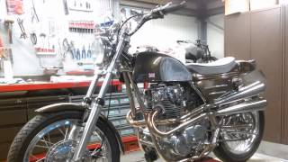 Rickman Métisse with Yamaha XS650 project.