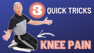 3 Quick Tricks t๐ Help Take Away Your Knee Pain