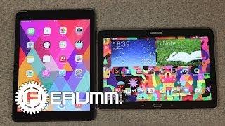 Samsung Galaxy Note 10.1 2014 Edition VS Apple iPad Air Сравнение флагманов от FERUMM.COM