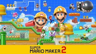 Super Mario Maker 2 (Switch) Playing Viewer Levels #23 - Queue Open