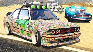 GTA V - Doomsday Heist Sentinel Sticker Bombs (GTA 5 HEIST DLC BMW E30 M3)