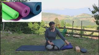 Comment choisir son tapis de yoga / Namaste yoga Grenoble