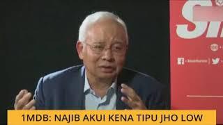 1MDB: Najib akui ditipu Jho Low