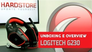 LOGITECH - G230 - Unboxing/Overview
