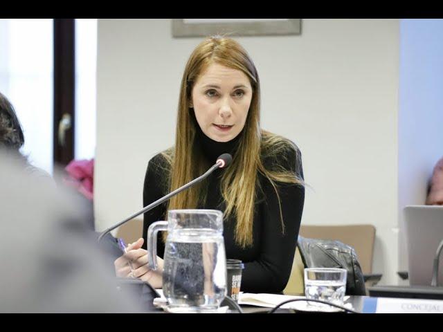 Intervención Concejala Mar Espinar en Comisión Hacienda Área Gobierno de Cultura, Turismo y Deporte.