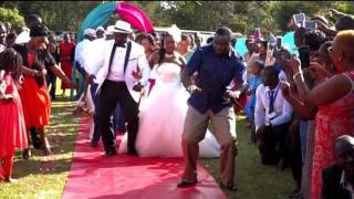 GIDEON AND KANANA WEDDING 16/4/16 ON CITIZEN WEDDING SHOW