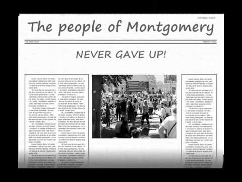 essay about montgomery bus boycott What is the montgomery bus boycott it was a political and social protest against the policy of racial segregation on the public transit what effect did the montgomery.
