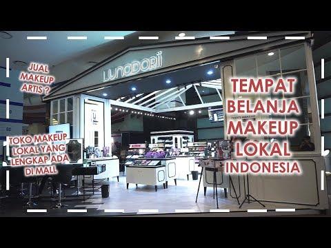 Makeup Shopping Trip @ Lunadorii Pacific Place  Vlog Tempat Belanja Kosmetik Lokal Indonesia Lengkap