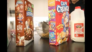 Pantry Moves: Cereal Milk