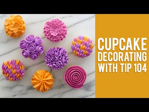 Download How to Decorate Buttercream Flower Cupcakes Pics