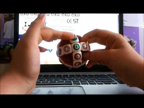 Tutorial IQ Ball - Hungarian Globe By  Rafaela Andrade