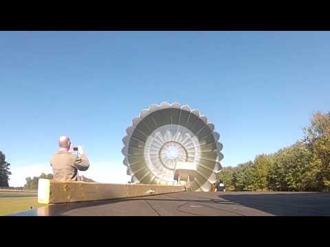 BRS Ballistic Parachute test fire