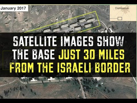 Satellite images reveal Iran is building a permanent military base is Syria.