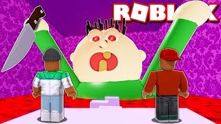 2 PLAYER ESCAPE UNCLE JOE'S HOUSE IN ROBLOX