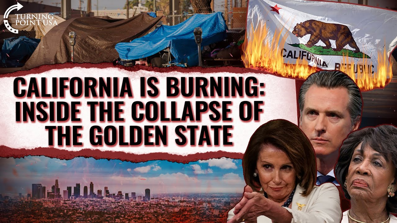 California Is Burning: Inside The Collapse Of The Sunshine State