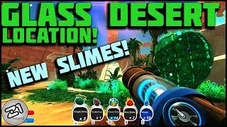 Glass Desert LOCATION ! Mosaic, Dervish, Tangle And Fire Slimes ! Slime Rancher Gameplay Z1 Gaming