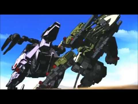ゾイド Zoids新世紀 Zero ライガー Zero Vs バーサクフューラー Youtube