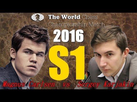 Partite Commentate di Scacchi 243 - Karjakin vs Carlsen (S1) Tutto in un giorno - 2016 [C84]