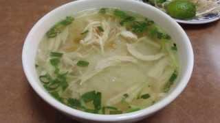 Pho Ga Chicken Noodle Soup @ Pho Vietnam San Francisco California
