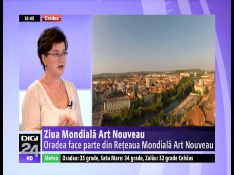 Digi 24 Oradea: Art Nouveau World Day - Ziua Mondială Art Nouveau