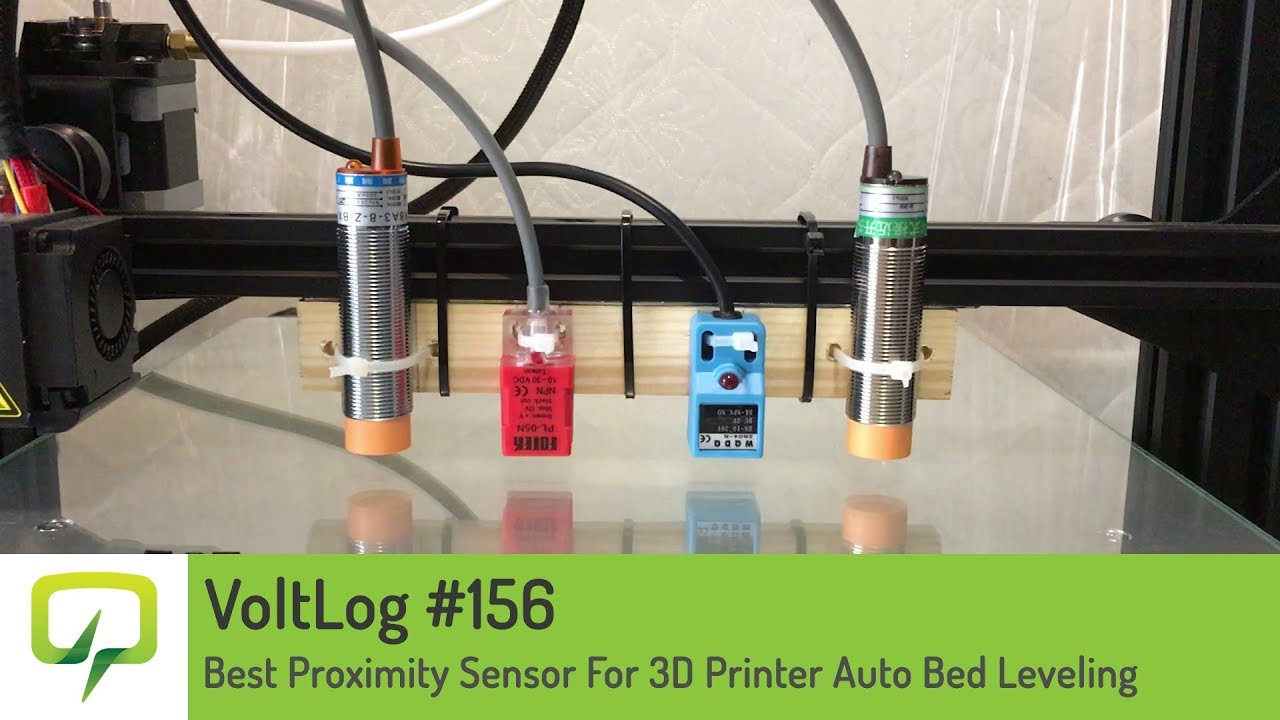Voltlog 156 Best Proximity Sensor For 3d Printer Auto Bed Wiring Diagram On Dc Pnp Also Switch Leveling