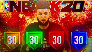 *NEW* BEST OVERPOWERED OFFENSIVE THREAT BUILD ON NBA2K20! BEST SHOOTING BUILD + BEST BADGES!