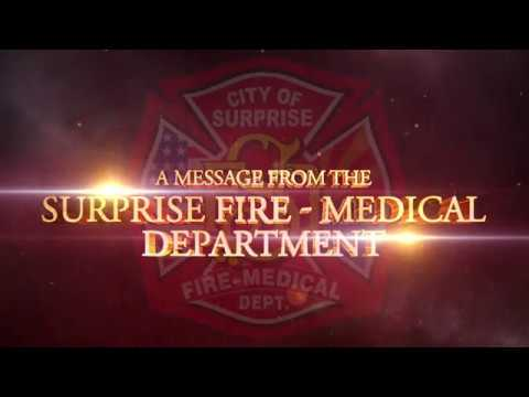 A Message From the Surprise Fire-Medical Department video thumbnail