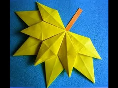 Работа с бумагой. Техника оригами