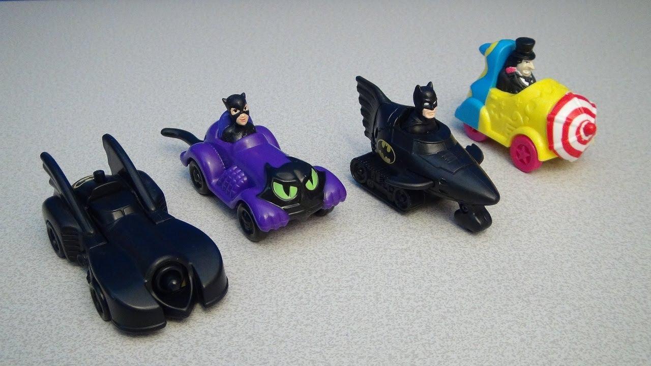 McDonald/'s Happy Meal Batman Toy Batmobile Car 1991