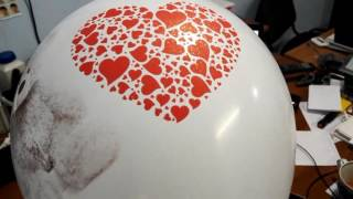 Печать на шарах. Мишка Тедди и искрящееся сердце 001(, 2017-01-05T14:57:22.000Z)