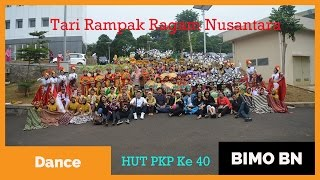 Download Mp3 Tari Rampak Ragam Nusantara | Festival Tari Hut Pkp Ke 40