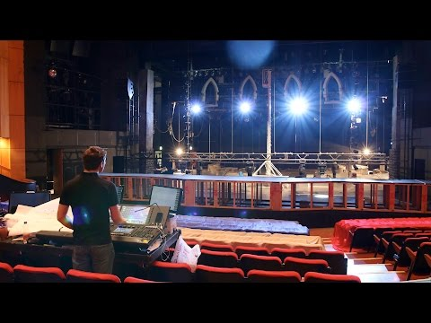 Theatre Fit Up Time Lapse | Sister Act July 2015 [4K]