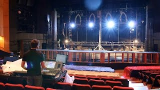 Theatre Fit Up Time Lapse   Sister Act July 2015 [4K]