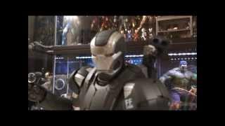 Hot Toys Iron Man 3 Diecast War Machine Mark 2.0