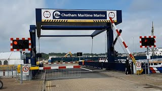 *Barrier Failure* Chatham Marina Lift Bridge, Kent