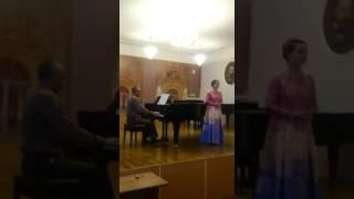 """Родина Екатерина. 13 лет """"Мотылёк и Фиалка"""""""