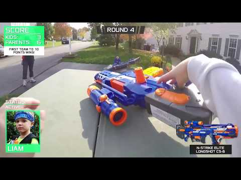 Thumbnail: Nerf War: Parents vs Kids 2