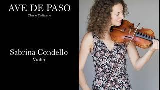 Ave de Paso solo violin
