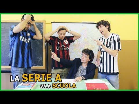 La serie a va a scuola