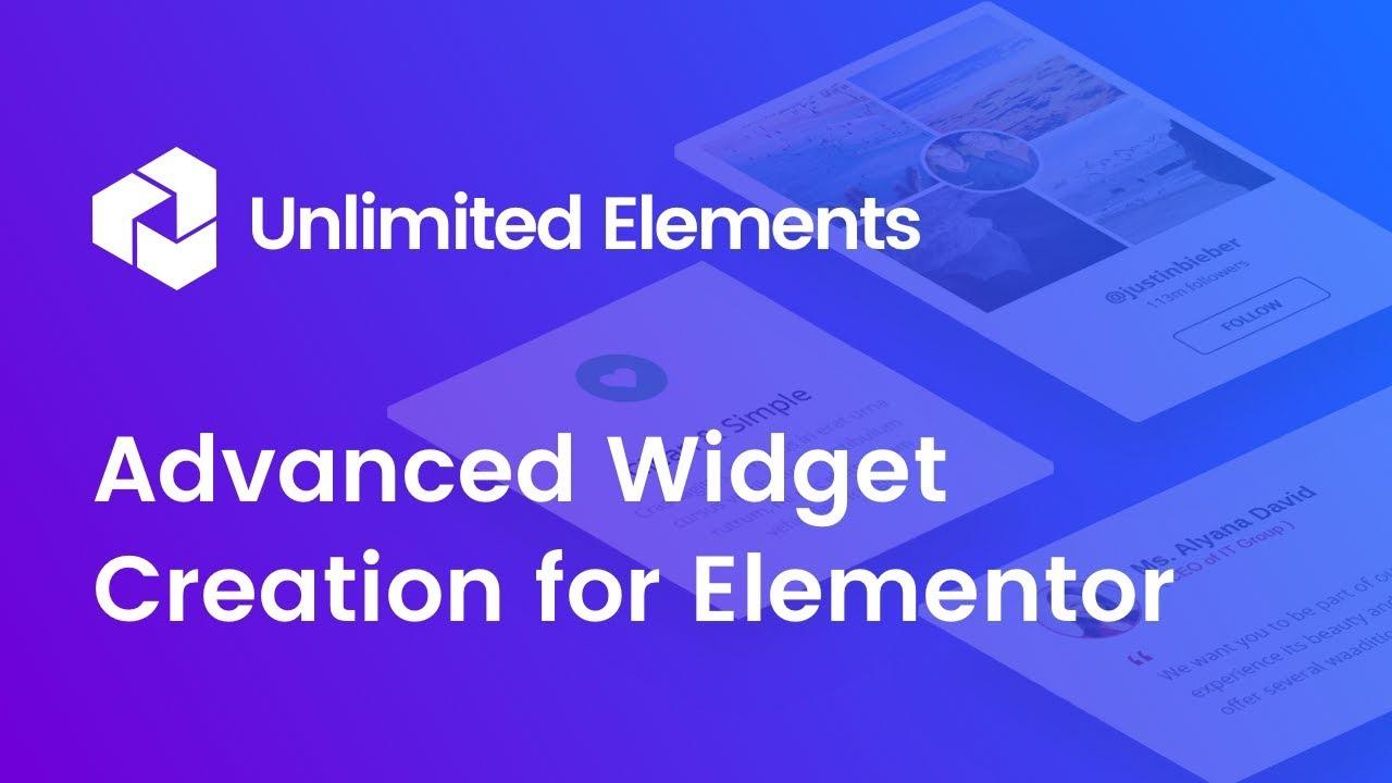 Advanced Widget Creation - CodePen to Elementor