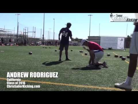 Andrew Rodriguez kicker/punter highlights