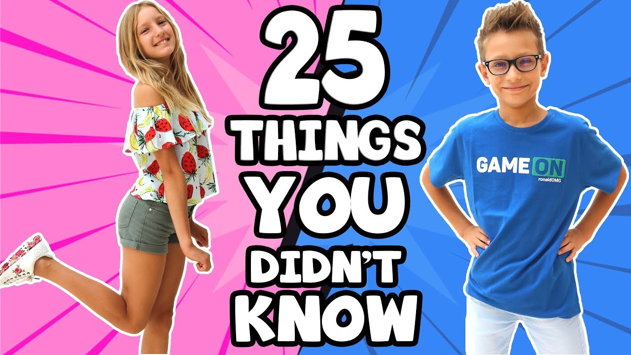 25 Things You Didnt Know About Sis Vs Bro