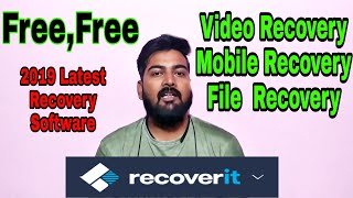 """Recoverit"" Free Video recovery