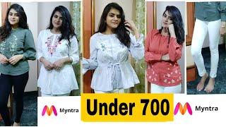Myntra haul 2018   Myntra TRY ON HAUL   Myntra TOPS haul    Ria Das