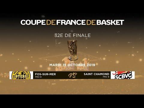 32e De Finale De La Coupe De France - Fos-sur-mer (Pro B) – Saint Chamond (Pro B)
