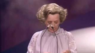 Barbara Kopple Accepts Academy Award for Harlan County USA