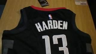 Баскетбольная джерси Nike NBA Houston Rockets №13 James Harden new collection черная магазин Basket
