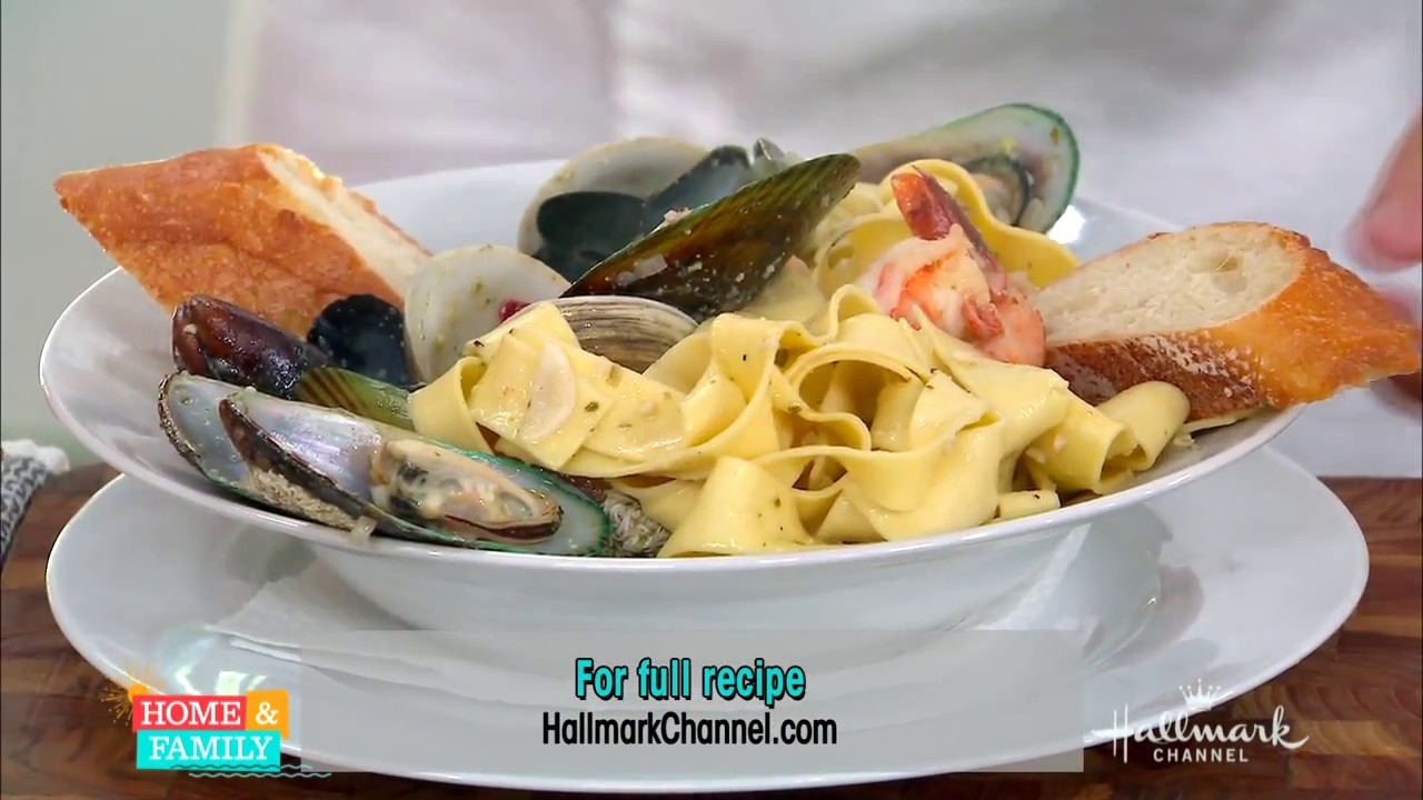 New zealand seafood pasta by chef gwithyen thomas on home for Aroha new zealand cuisine